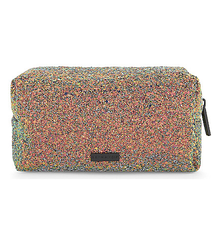 SKINNYDIP - Sea glitter makeup bag | Selfridges.com