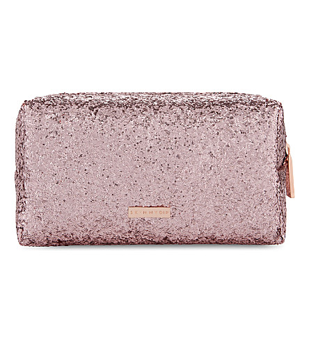 SKINNYDIP - Glitter makeup bag | Selfridges.com