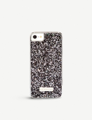 SKINNYDIP Midnight glitter iPhone case iPhone 6 6S 7 8