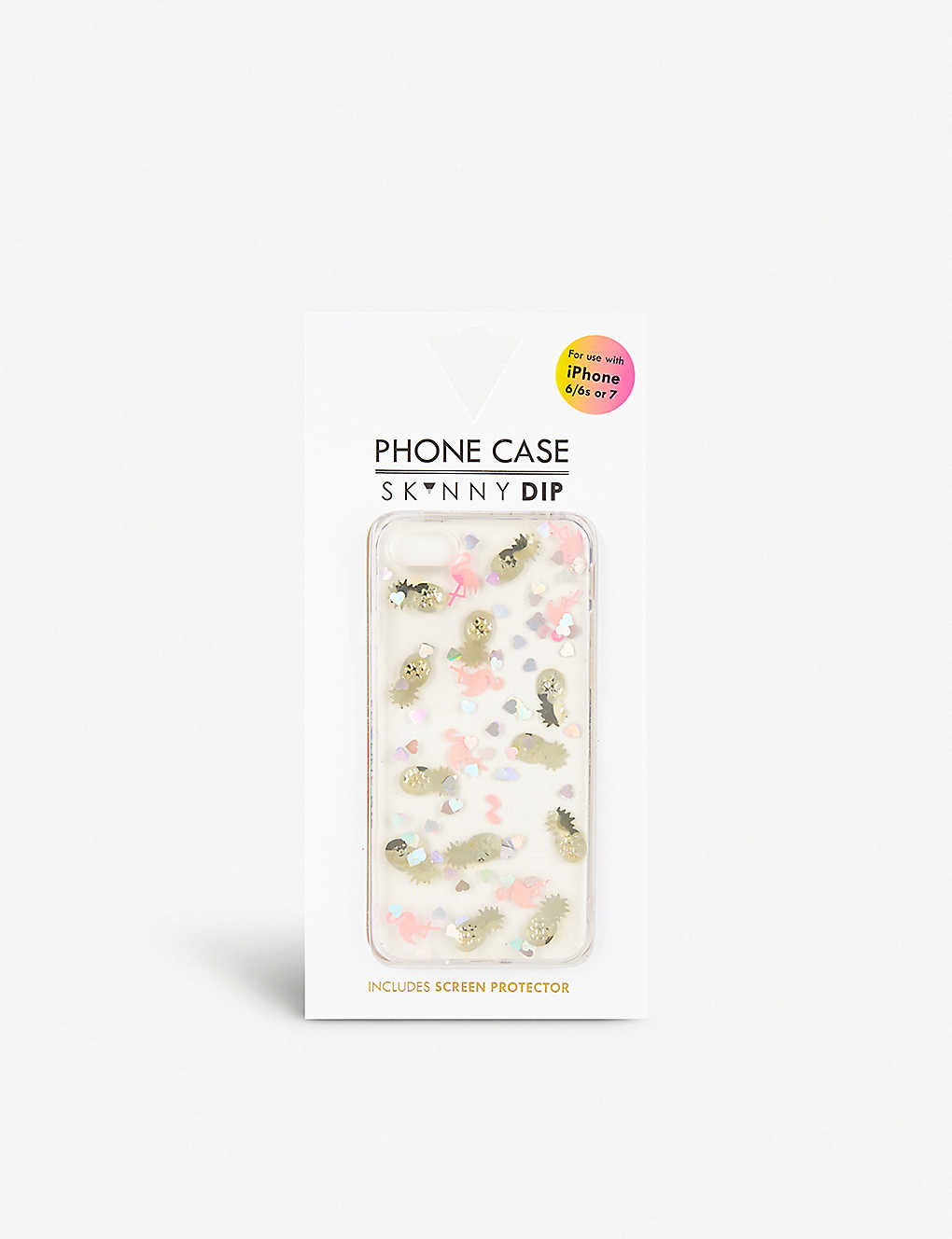 huge selection of c89ee 1ced3 SKINNYDIP - Flamingo Jelly iPhone 7/8 case | Selfridges.com