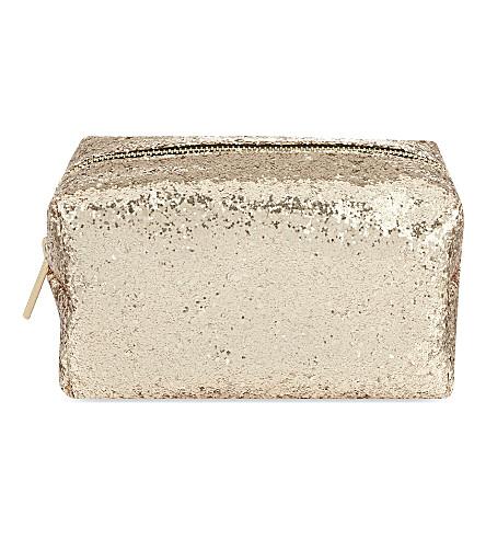 SKINNYDIP - Party glitter make-up bag | Selfridges.com