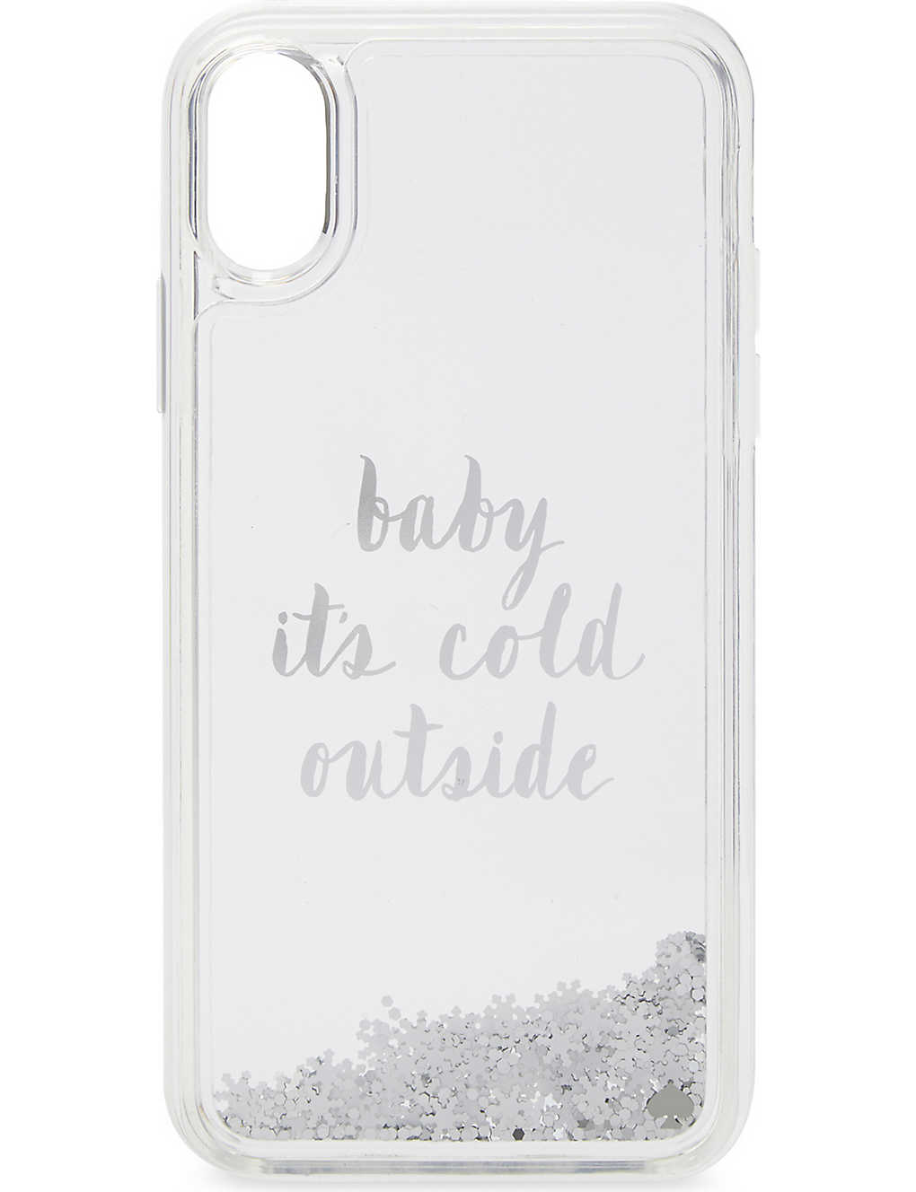 brand new c09b8 18881 KATE SPADE NEW YORK - Baby it's cold outside iPhone X case ...