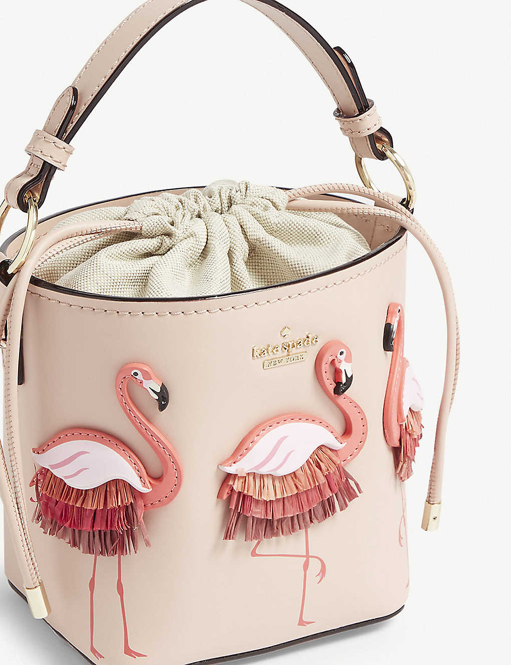 a00d91175fb40 KATE SPADE NEW YORK - By the pool pippa leather bucket bag ...