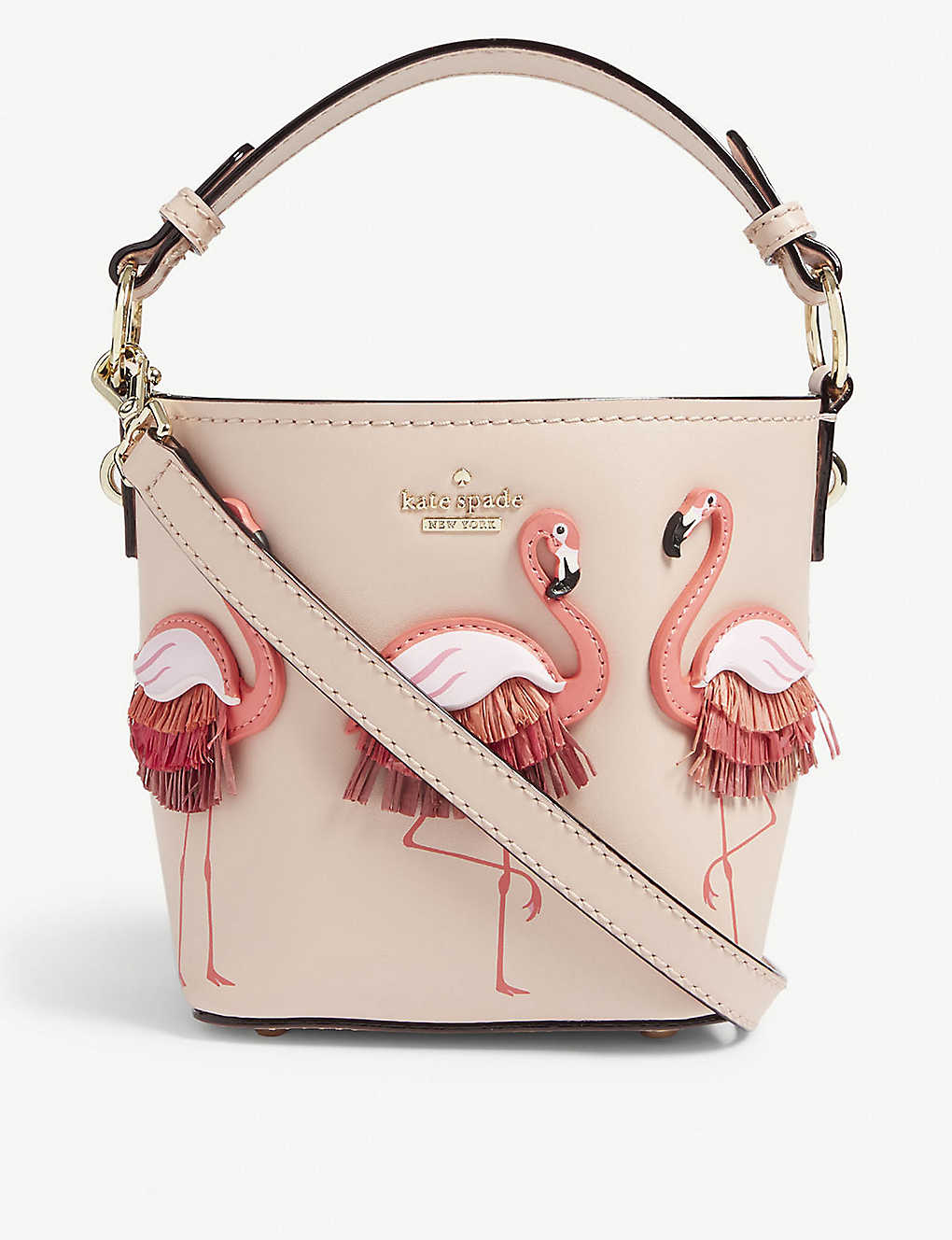 b9983413fa00f KATE SPADE NEW YORK - By the pool pippa leather bucket bag ...