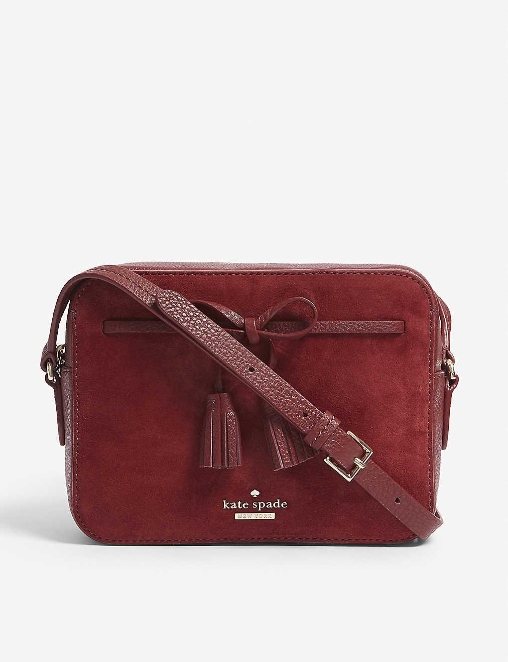 28d4d0611 KATE SPADE NEW YORK - Hayes Street Arla leather cross-body bag ...