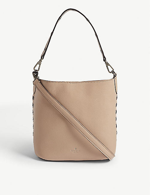 3a2a2177c7b0 KATE SPADE NEW YORK Atlantic Avenue Libby leather bucket bag