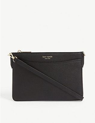 KATE SPADE NEW YORK: Margaux leather cross-body bag