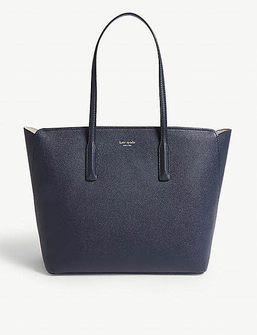 KATE SPADE NEW YORK Margaux grained leather tote bag