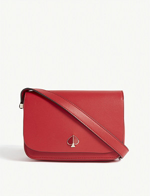 KATE SPADE NEW YORK Nicola leather cross-body bag