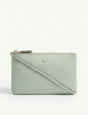 KATE SPADE NEW YORK Polly medium double gusset cross-body bag