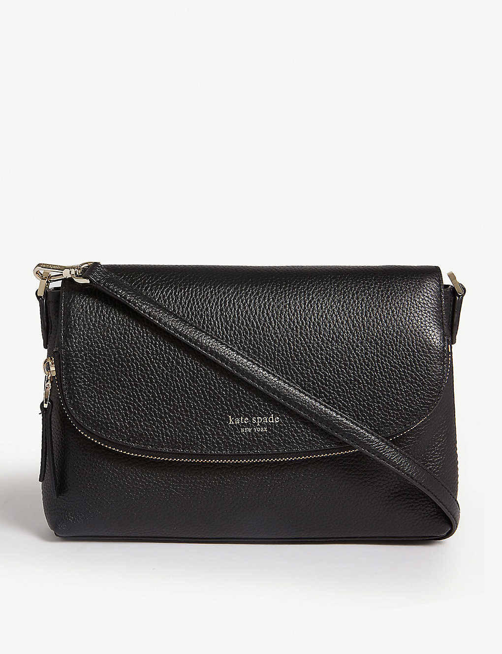 Kate Spade New York Polly Large Convertible Leather Cross Body Bag