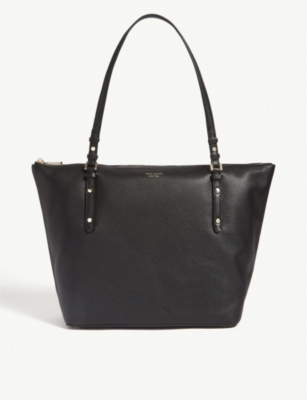 KATE SPADE NEW YORK Polly leather tote bag