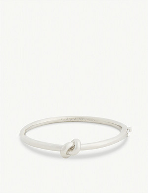 KATE SPADE NEW YORK Sailor's knot hinged bangle