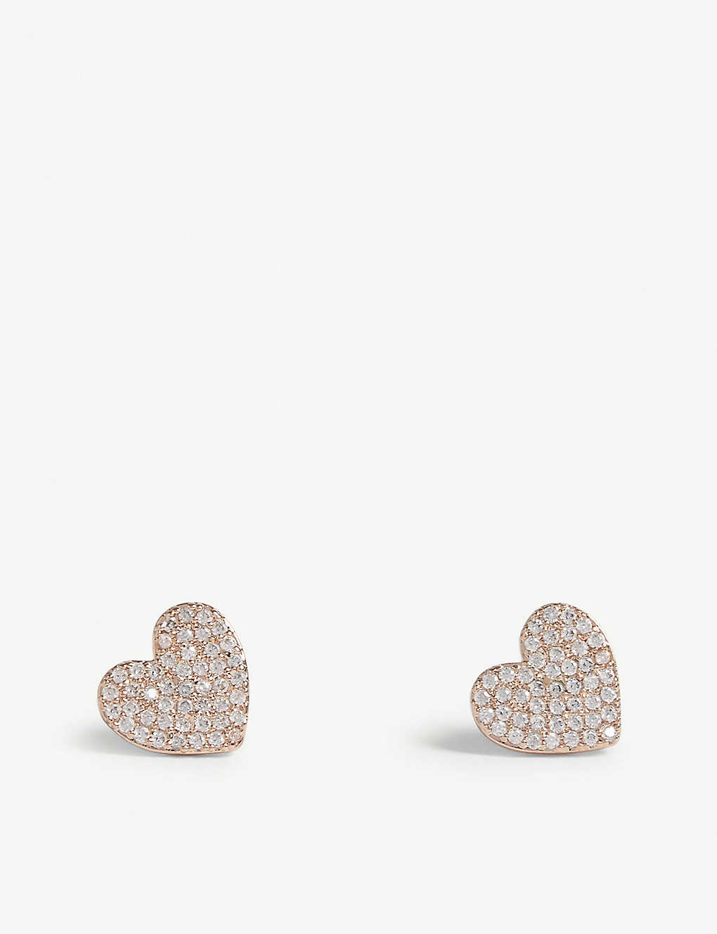 d4470112892bc KATE SPADE NEW YORK - Yours Truly mini heart stud earrings ...