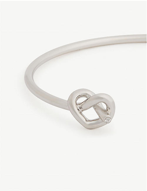 KATE SPADE NEW YORK Love Me Knot cuff bracelet