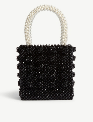 SHRIMPS Beaded Antonia bag