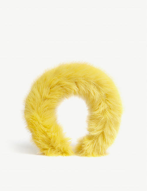 SHRIMPS Melete faux fur headband