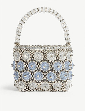 SHRIMPS Shelley beaded bag