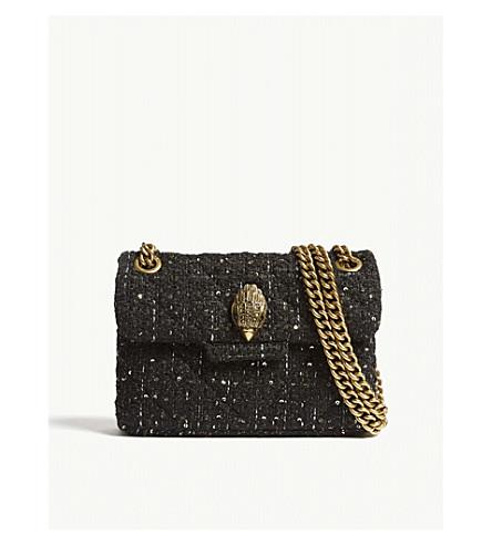 81a52a8c52cb ... Mini Kensington tweed shoulder bag (Black. PreviousNext