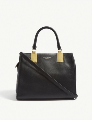 KURT GEIGER LONDON Emma small leather tote