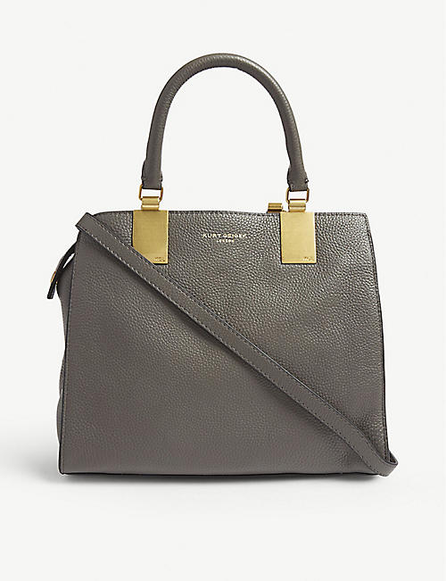 e35466f3f72 KURT GEIGER LONDON Emma small leather tote