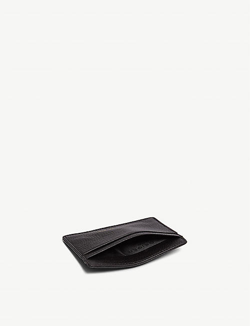 KURT GEIGER LONDON Leather card holder