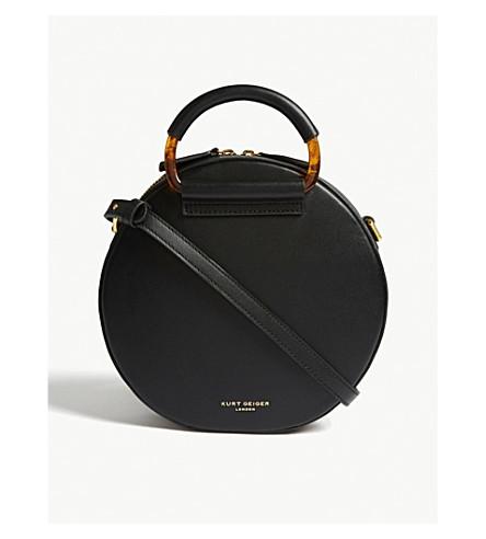 4dae2f7a342a ... KURT GEIGER LONDON Harriet leather cross-body bag (Black. PreviousNext