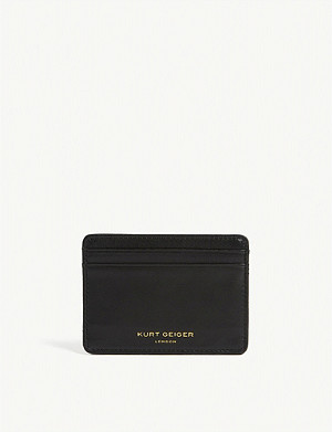 KURT GEIGER LONDON 绗缝革 CARD 架