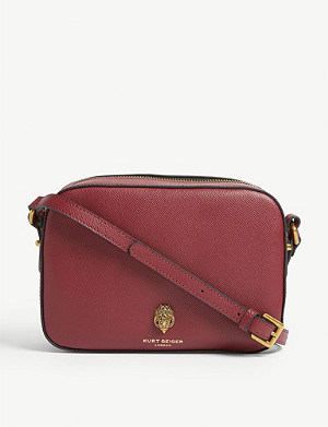 KURT GEIGER LONDON Richmond leather cross-body bag
