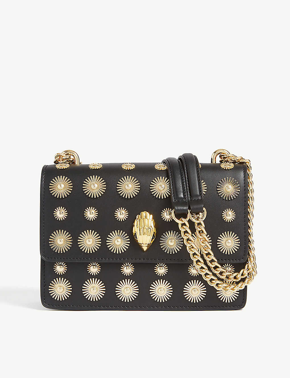 8ce3574ae7b2 KURT GEIGER LONDON - Shoreditch large coin leather cross-body bag ...