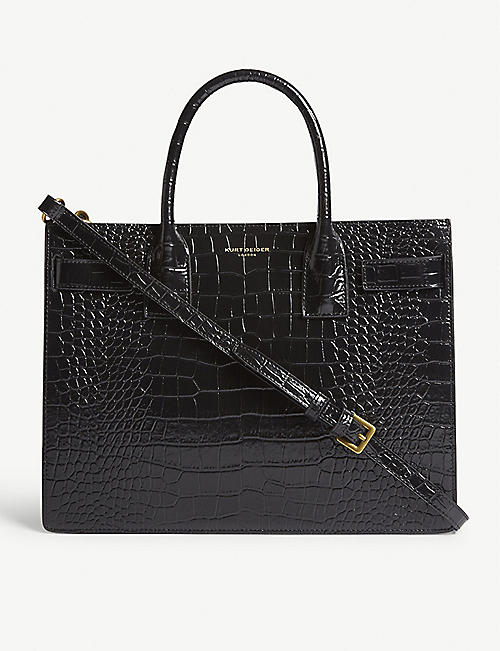 KURT GEIGER LONDON Shoreditch leather tote