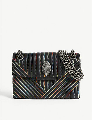 KURT GEIGER LONDON: Mini Kensington shoulder bag