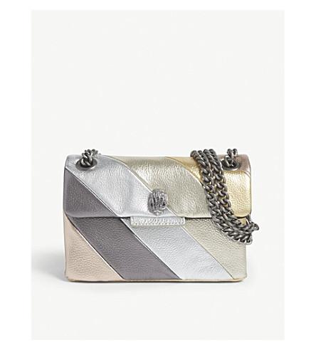e6c6528908b9 KURT GEIGER LONDON - Mini metallic Kensington bag