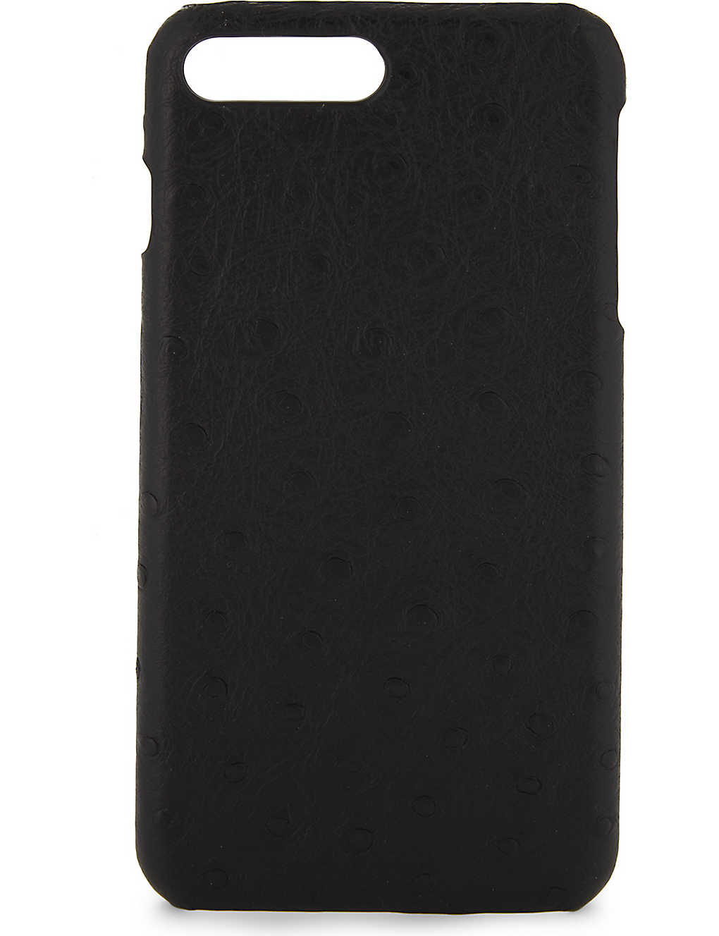 best service 1215f 986ab THE CASE FACTORY - Ostrich effect leather iPhone 7 Plus/8 Plus case ...