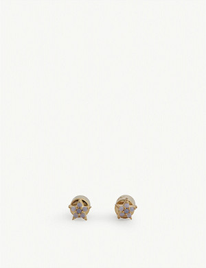 ASTRID & MIYU Mystic Star stud earrings