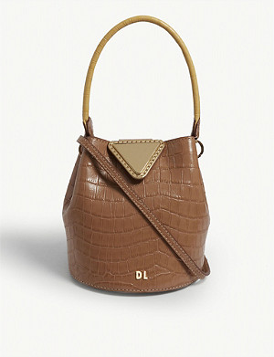 DANSE LENTE Josh XS leather bucket bag