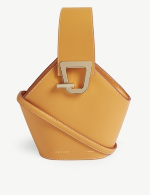 DANSE LENTE Johnny mini leather bucket bag