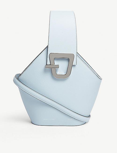 f866d8176dcd DANSE LENTE Johnny mini leather bucket bag