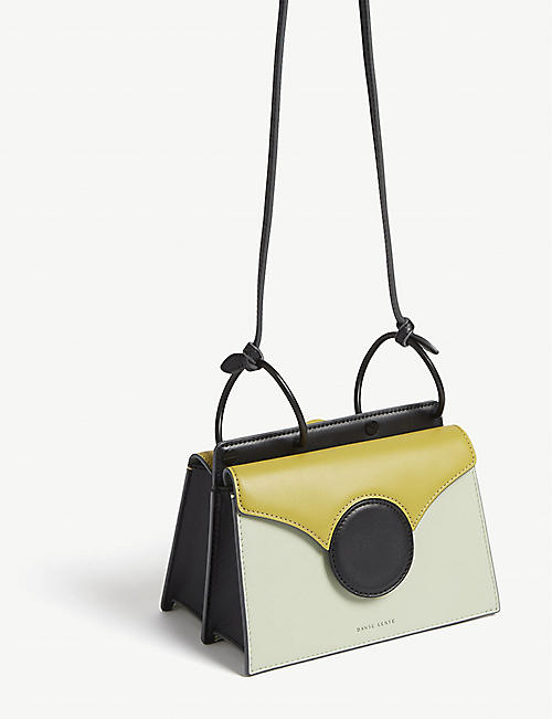 DANSE LENTE Phoebe mini leather cross-body bag
