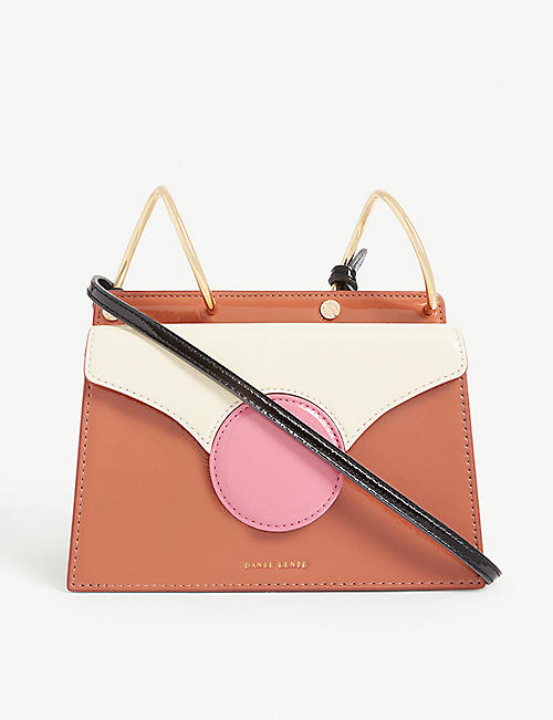 DANSE LENTE Phoebe Bis leather cross-body bag