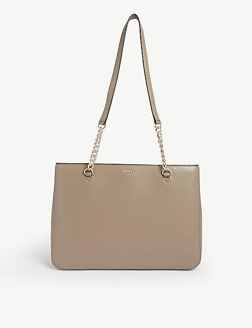 DKNY: Bryant leather tote