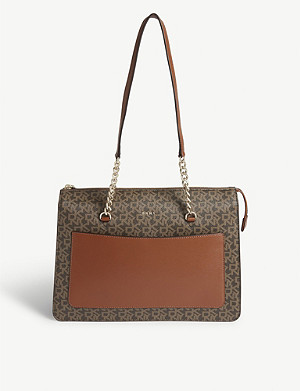 DKNY Logo-print Bryant shoulder bag