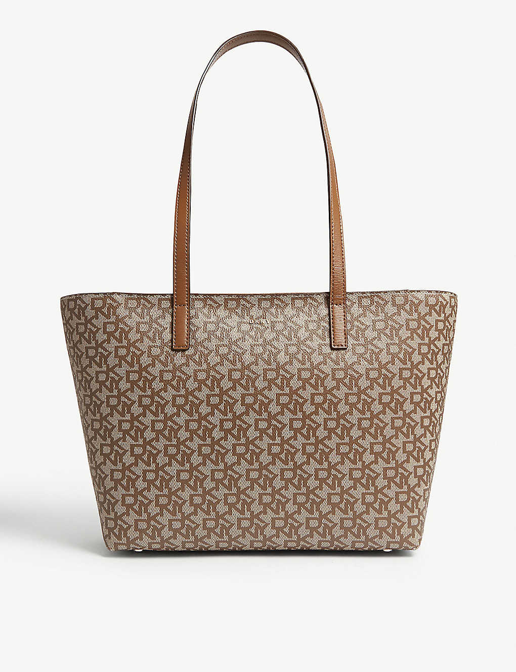 201a487ab DKNY - Bryant medium logo print leather tote | Selfridges.com