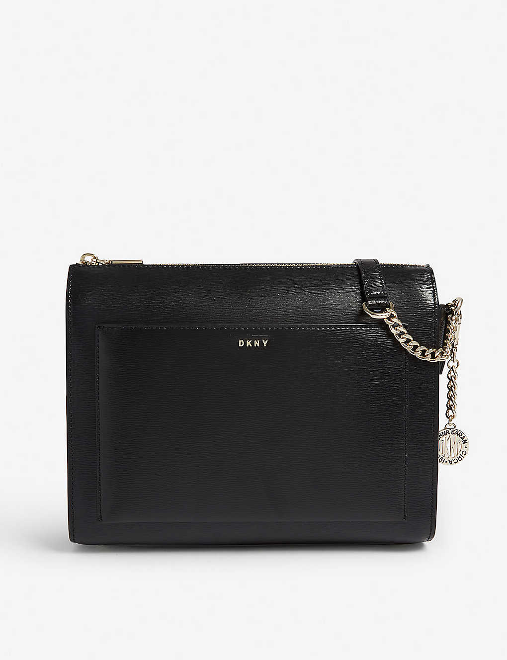 DKNY: Bryant saffiano leather cross-body bag