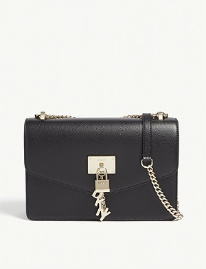 DKNY Elissa leather shoulder bag