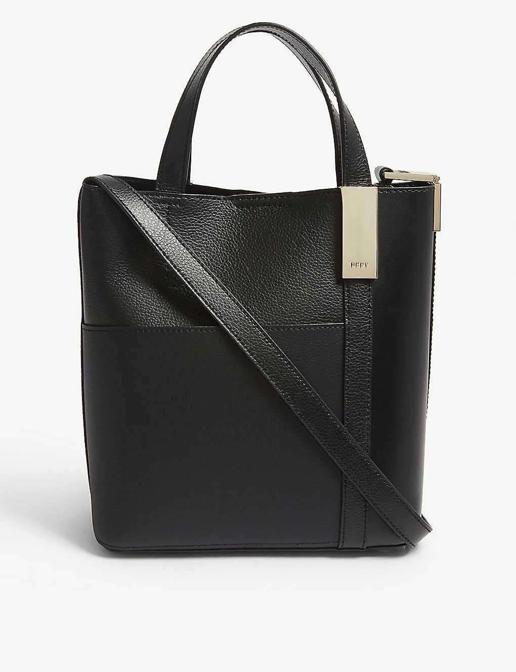 ba9d6c18c DKNY - Sam leather shoulder bag | Selfridges.com
