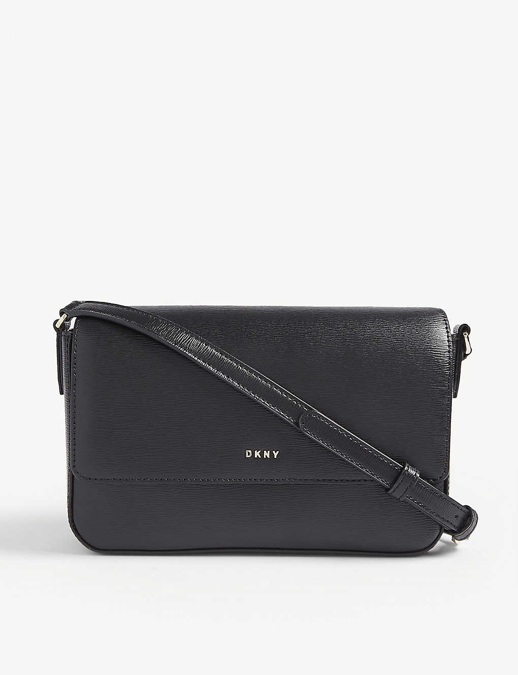 DKNY: Bryant leather cross-body bag