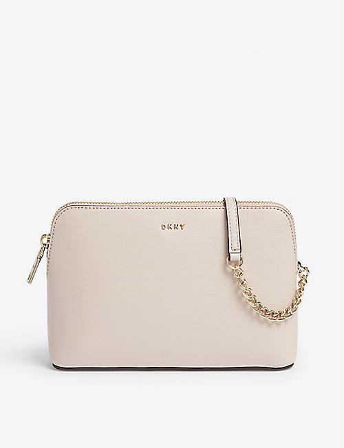 057ab39c69e DKNY Bryant saffiano leather cross-body bag