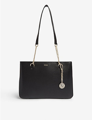 DKNY: Bryant medium leather tote bag