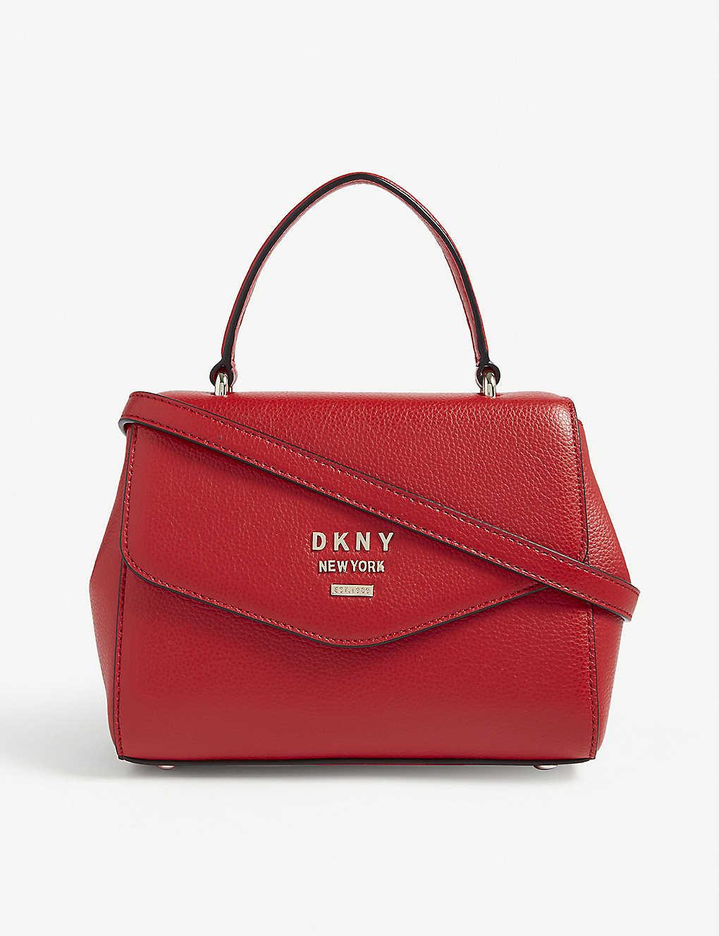1eecede48d78 DKNY - Whitney small leather shoulder bag | Selfridges.com